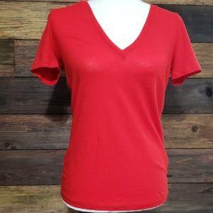 J. Crew Vintage Cotton V-Neck T-Shirt